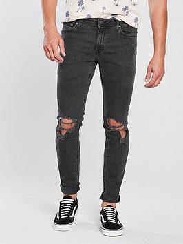 jack-jones-jack-amp-jones-intelligence-rip-amp-repair-skinny-jeans