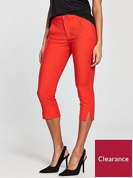 mango-crop-slim-fit-trouser-red
