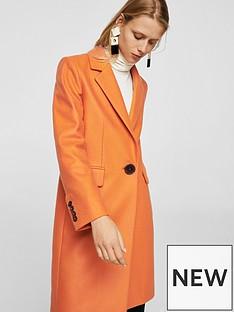 mango-structured-wool-coat-orange