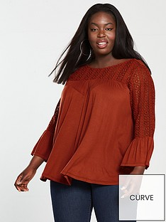 v-by-very-curve-lace-insert-top-spicenbsp
