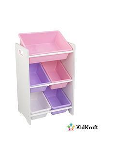 kidkraft-5-bin-storage-unit-pastel-amp-white