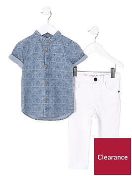 river-island-mini-boys-blue-aztec-denim-shirt-amp-jeans-outfit