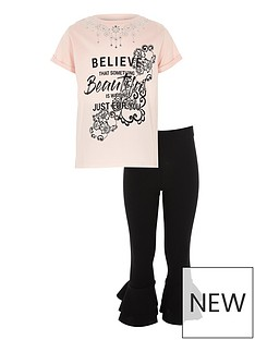 river-island-girls-pink-lsquobelieversquo-necklace-t-shirt-and-legging-set