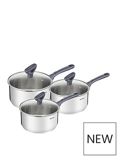 tefal-daily-cook-induction-3pce-pan-set-stainless-steel-161820cm-saucepans-lids