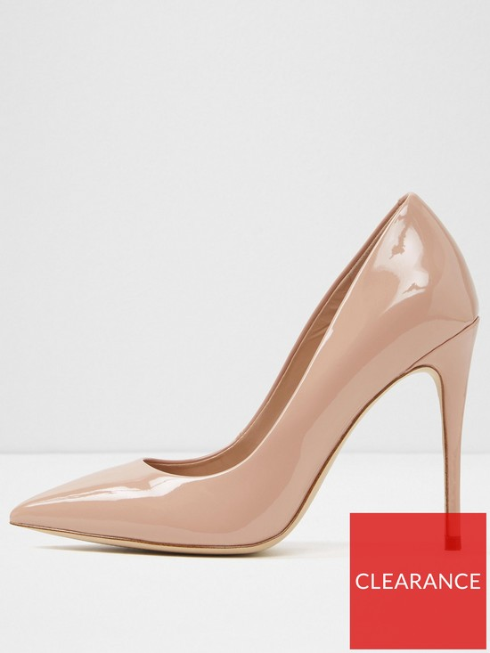 6fdcacfad1f4 Aldo Stessy Court Shoe (Wide Fit) - Light Pink