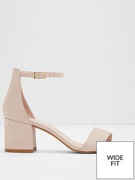 aldo-villarosa-two-part-sandal-wide-fit-light-pink