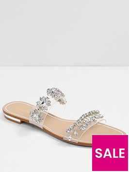 aldo-melezzole-flat-sandal-silver