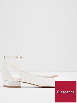 aldo-serisien-point-flat-shoe-white