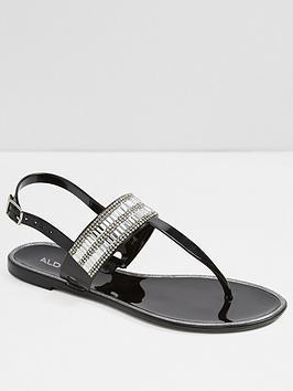 aldo-etiewen-jelly-sandal-black