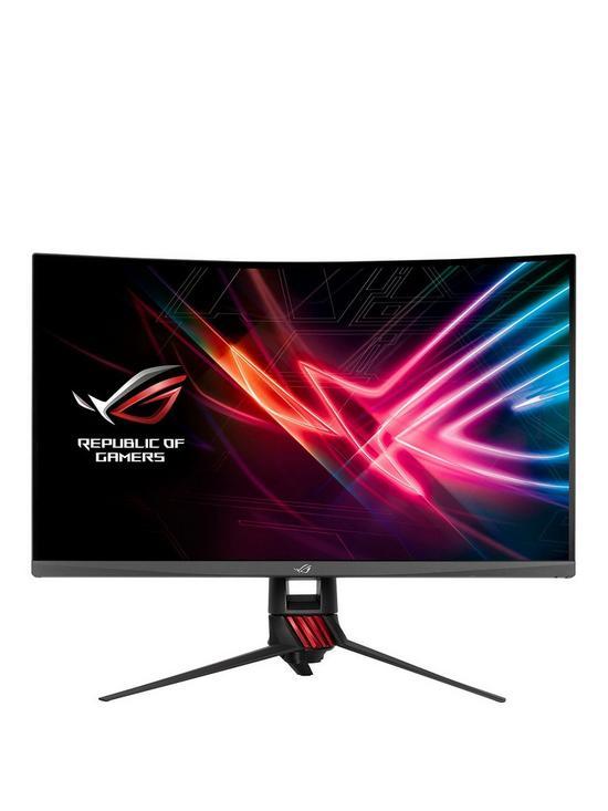 ROG Strix XG32VQ 32 inch Curved Gaming Monitor WQHD (2560x1440), 144Hz,  FreeSync, Aura RGB