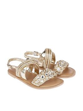 accessorize-girlsnbspfancy-beaded-sandals-gold