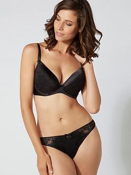 boux-avenue-samantha-plunge-bra-black