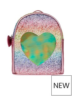 accessorize-girls-rainbow-glitsy-heart-backpack