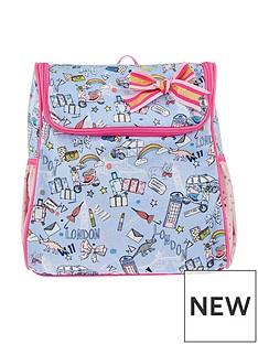 monsoon-london-print-backpack