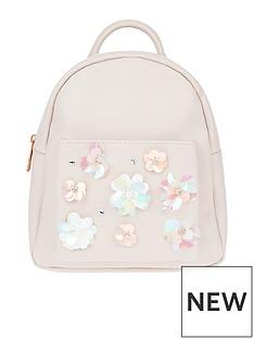 monsoon-sequin-flower-mini-backpack
