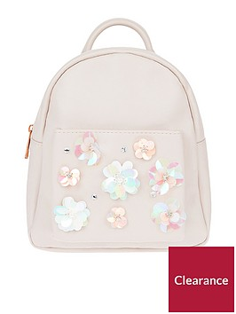 monsoon-sequin-flower-mini-backpack