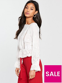 miss-selfridge-lace-cut-work-blouse-ivory