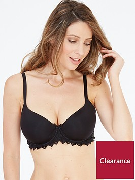 lepel-fiore-t-shirt-bra-black
