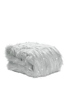 catherine-lansfield-metallic-faux-fur-throw