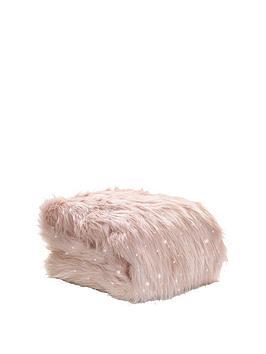catherine-lansfield-metallic-faux-fur-throw