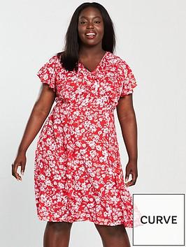 v-by-very-curve-ruffle-dress-floral-printnbsp