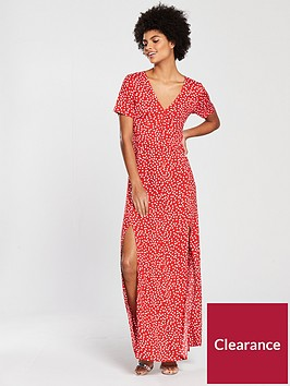 miss-selfridge-dolly-button-maxi-dress