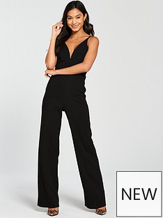 miss-selfridge-strappy-jumpsuit-black