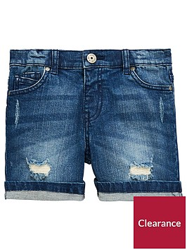 mini-v-by-very-boys-bleached-wash-denim-short-blue