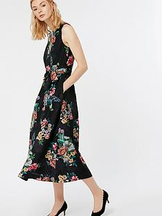 monsoon-carly-botanical-midi-dress-black