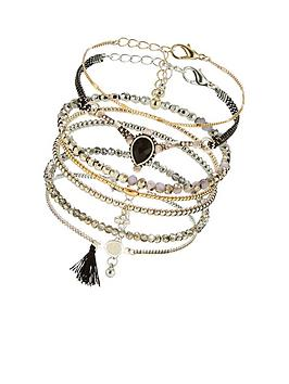 v-by-very-facet-mix-bracelet-pack