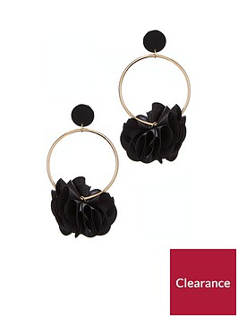 v-by-very-3d-floral-earrings-black