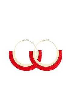 v-by-very-tassel-hoop-earrings-pink