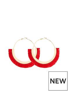 v-by-very-tassel-hoop-earrings-pink