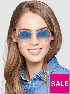 ray-ban-round-sunglasses-blue