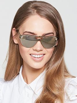 versace-logo-lens-sunglasses