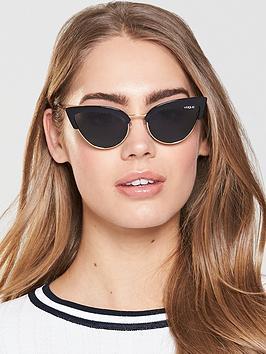 Vogue Cateye Sunglasses - Black