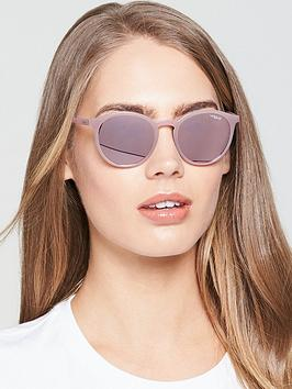 Vogue Transparent Sunglasses - Pink