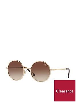 vogue-round-sunglasses-ndash-brown