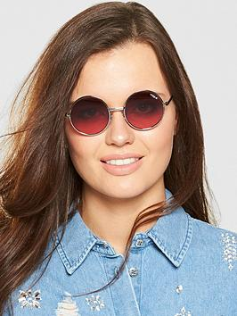 Vogue Round Sunglasses - Pink