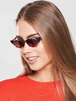 Vogue Gigi Square Sunglasses - Pink/Tort