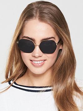 Ralph Lauren Sunglasses - Black/Gold thumbnail
