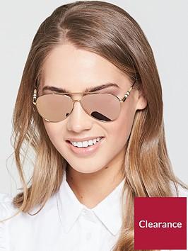 burberry-aviator-logo-arm-sunglasses-gold