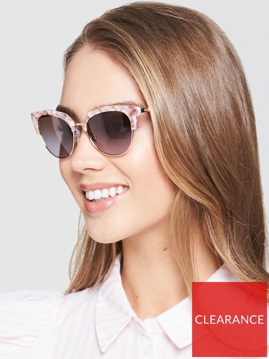 c8e9de10beee MICHAEL KORS Savannah Sunglasses - Pink | very.co.uk