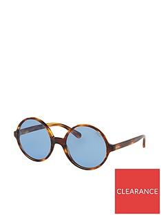 1984f2cc14 Ralph Lauren Round Sunglasses - Tortoiseshell
