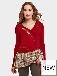 joe-browns-remarkable-top-red