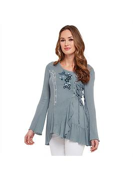 joe-browns-first-love-blouse-blue