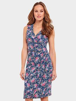 joe-browns-pretty-sleeveless-dress-blue