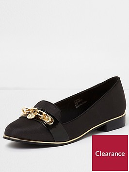 river-island-wide-fit-chain-loafers