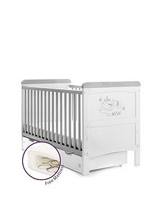 disney-winnie-the-pooh-deluxe-cot-bed-and-under-drawer--dreams-amp-wishes-and-free-mattress