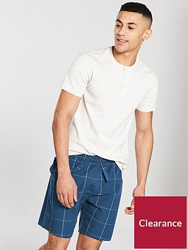 v-by-very-grandad-tee-amp-woven-check-bottoms--nbsp